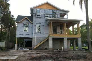Custom Built Home in Seminole Heights