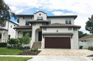 Custom Built Home in South Tampa