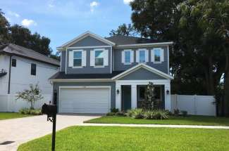 New Construction House in South Tampa