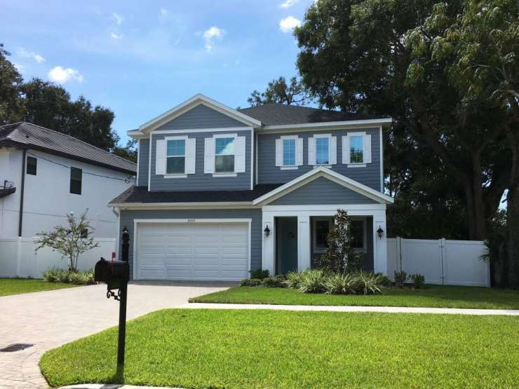 Custom Built- New Construction House in South Tampa