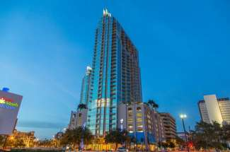 SkyPoint unit 2007 in Downtown Tampa
