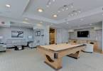Clubroom pool table ©TDK Home Tours